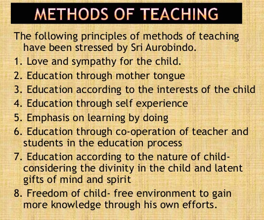 biography-of-sri-aurobindo-method-of-teaching