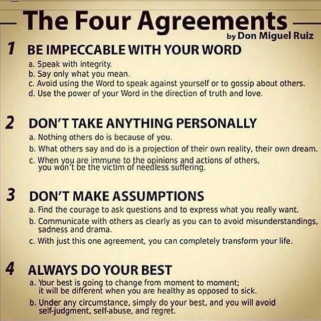 The four agreements lallous lab the four agreements platinumwayz