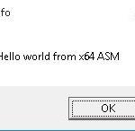 asm64hello