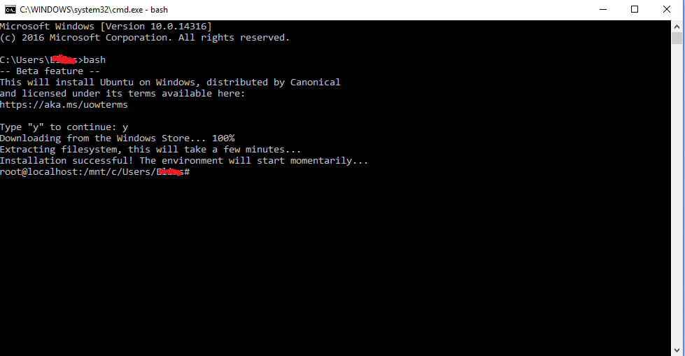 linux-subsystem-installed