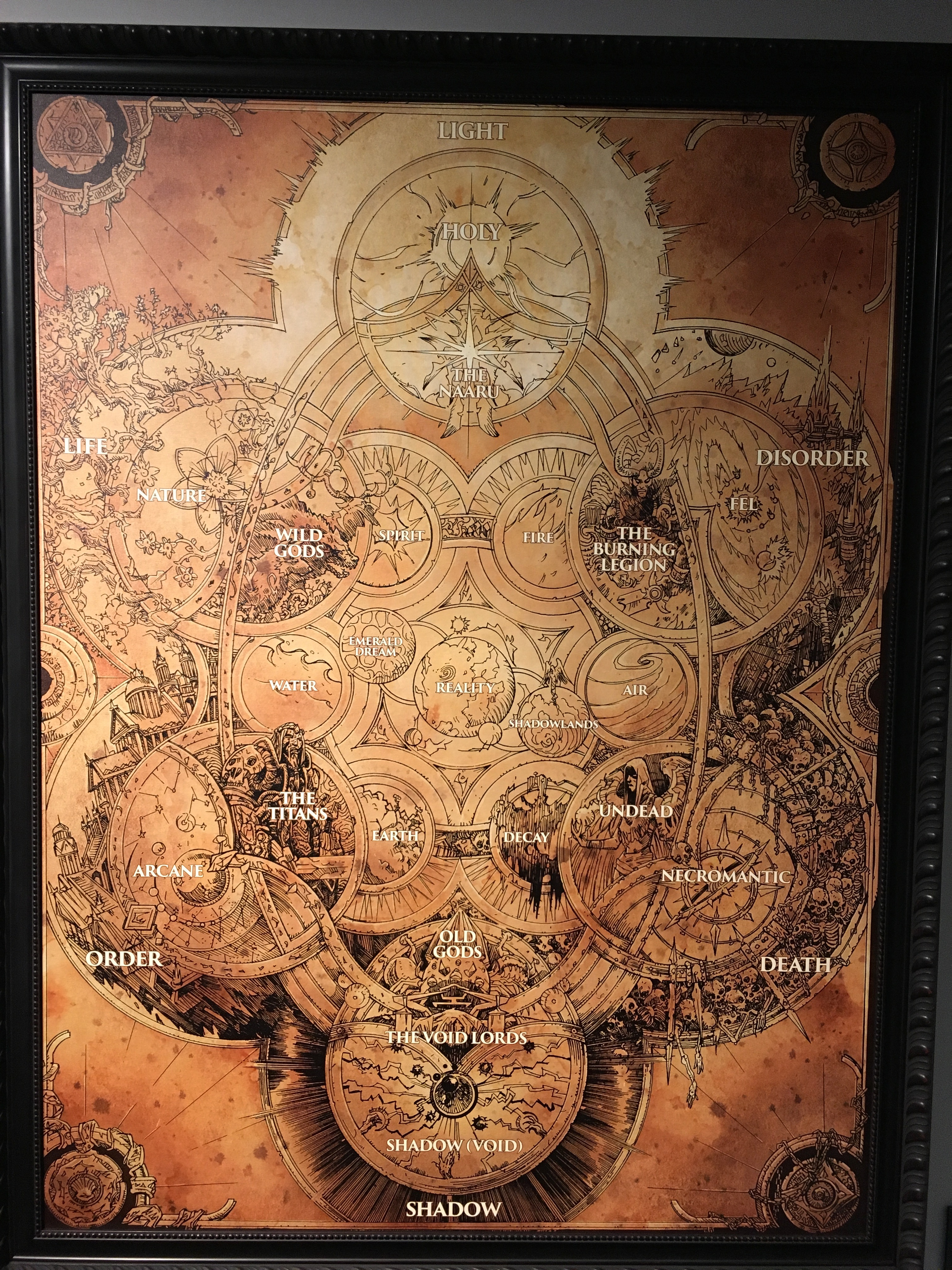 World of warcraft the naaru map lallous lab sentient energy beings made up of shards of fractured light i took the picture of this map from the blizzard entertainment library gumiabroncs Choice Image